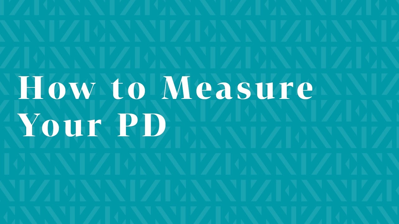 How To Measure Your Pd For Your Zenni Frames