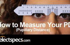 Printable Pupillary Distance Ruler