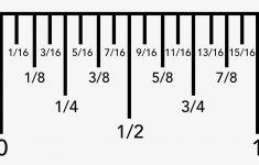 1 8 Inch Printable Ruler