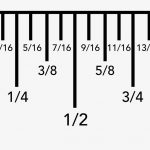 How To Read A Ruler   Ruler Measurements, Reading A Ruler, Ruler