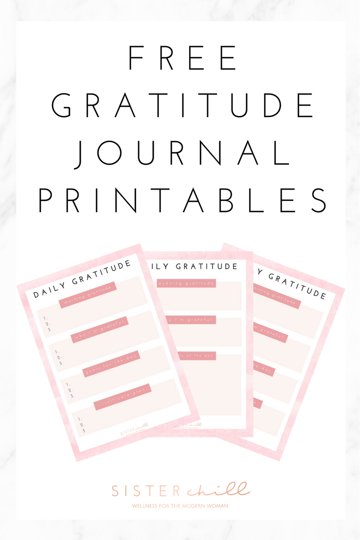 How To Start A Gratitude Journal (With Free Printable For