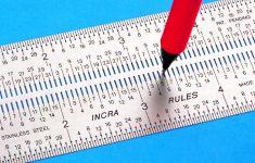 Printable Micro Ruler