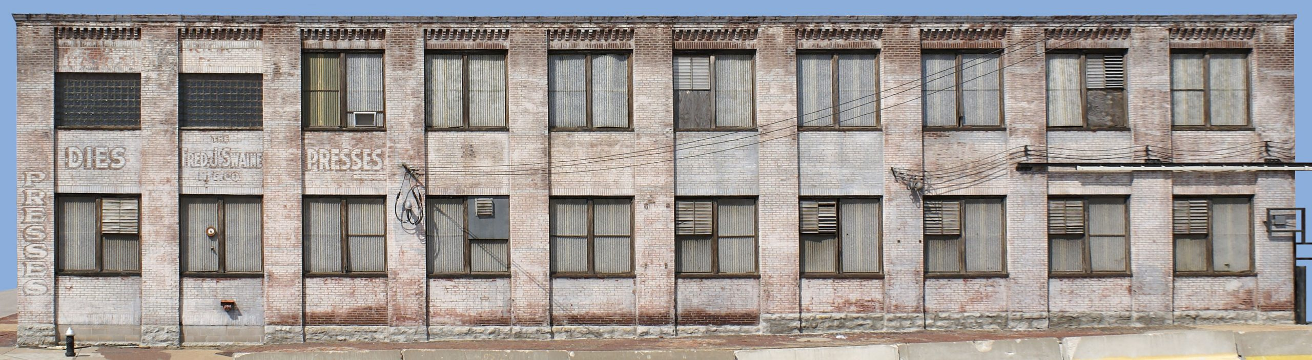 Industrial And Warehouse Background Buildings | Photographic
