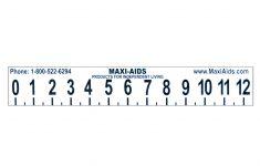 Big Printable Inch Ruler