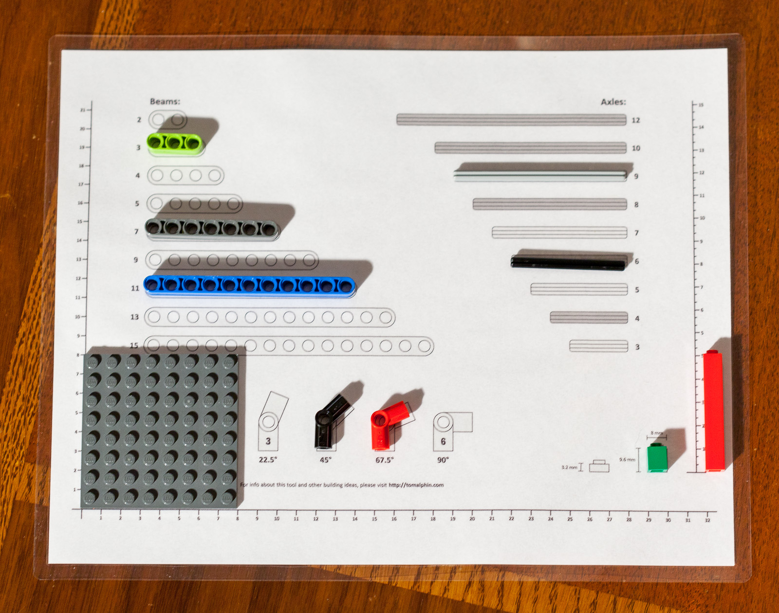 Lego Ruler And Sorting Tool – Tom Alphin