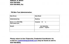 Mantoux Test Report Format – Fill Online, Printable