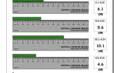 Printable Ruler Minus And Negative
