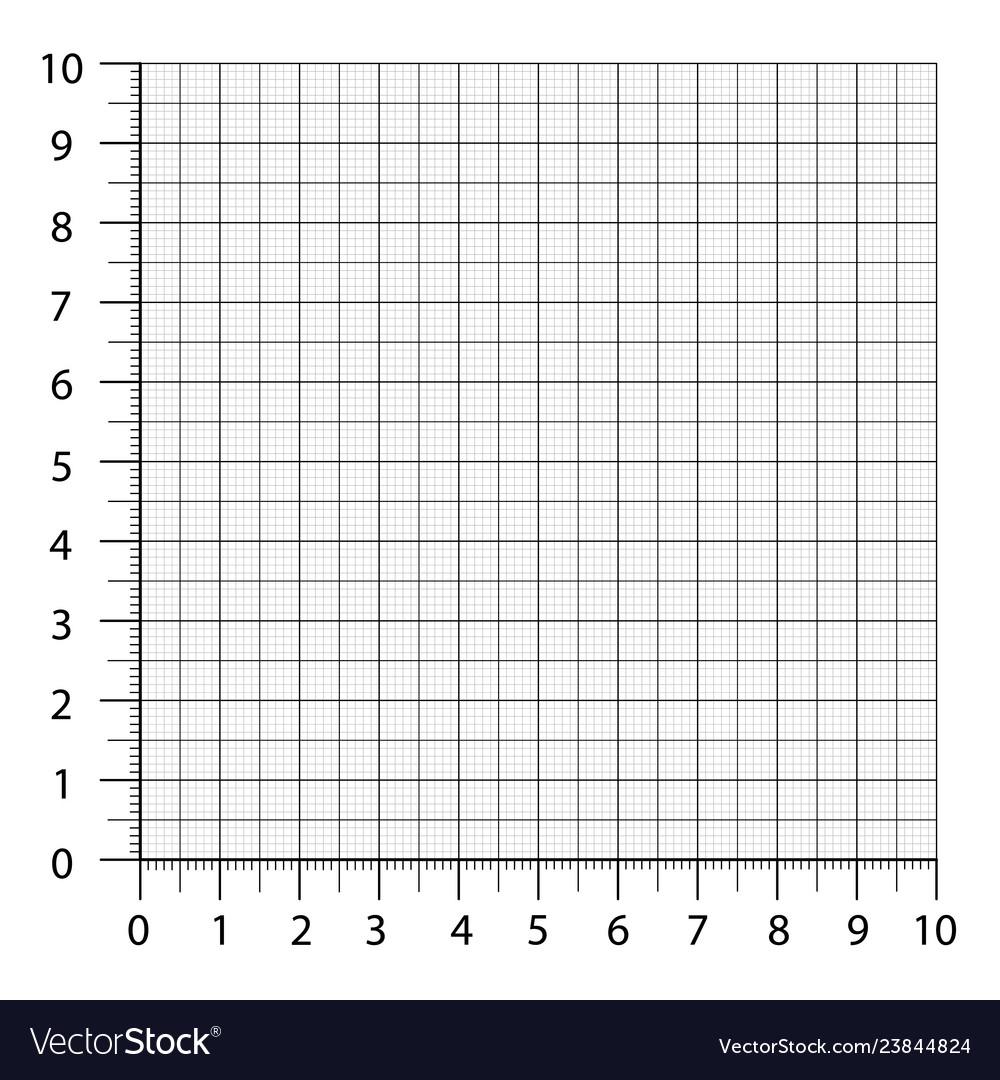 Measured Grid Graph Plotting Grid Corner Ruler