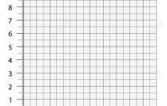 Measured Grid. Graph Plotting Grid. Corner Ruler With Sets Of..