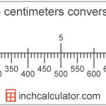 Meters To Centimeters Conversion (M To Cm)   Inch Calculator