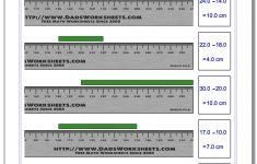 Centimeter Ruler 2nd Grade Printable