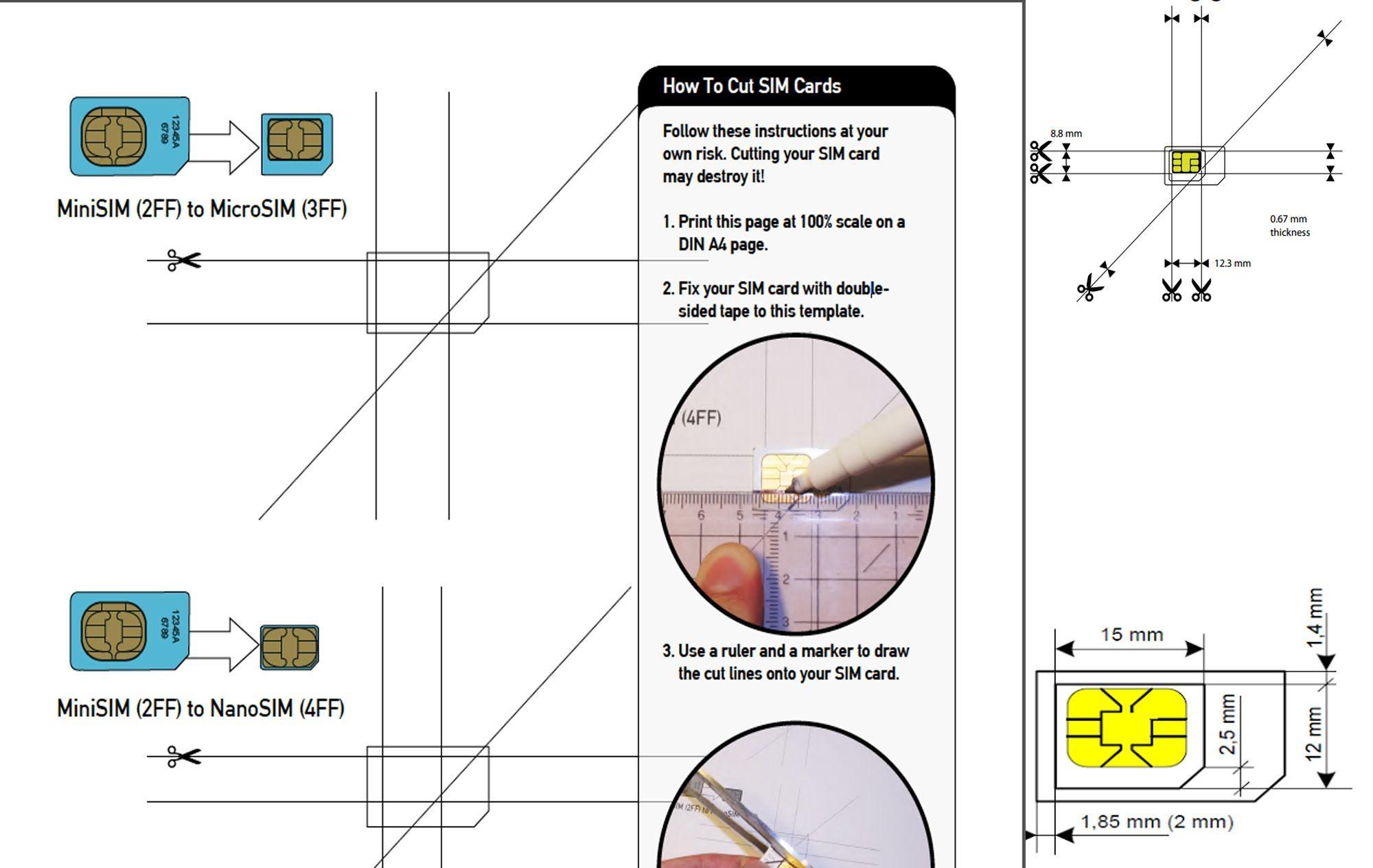 Micro Sim To Nano Sim - Google Zoeken (Met Afbeeldingen)