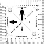 Modelling Water: Scale Ruler   Man | Scale