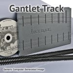 N Scale, #6 Gantlet Track Assembly Fixture For Micro Engineering 55 Rail