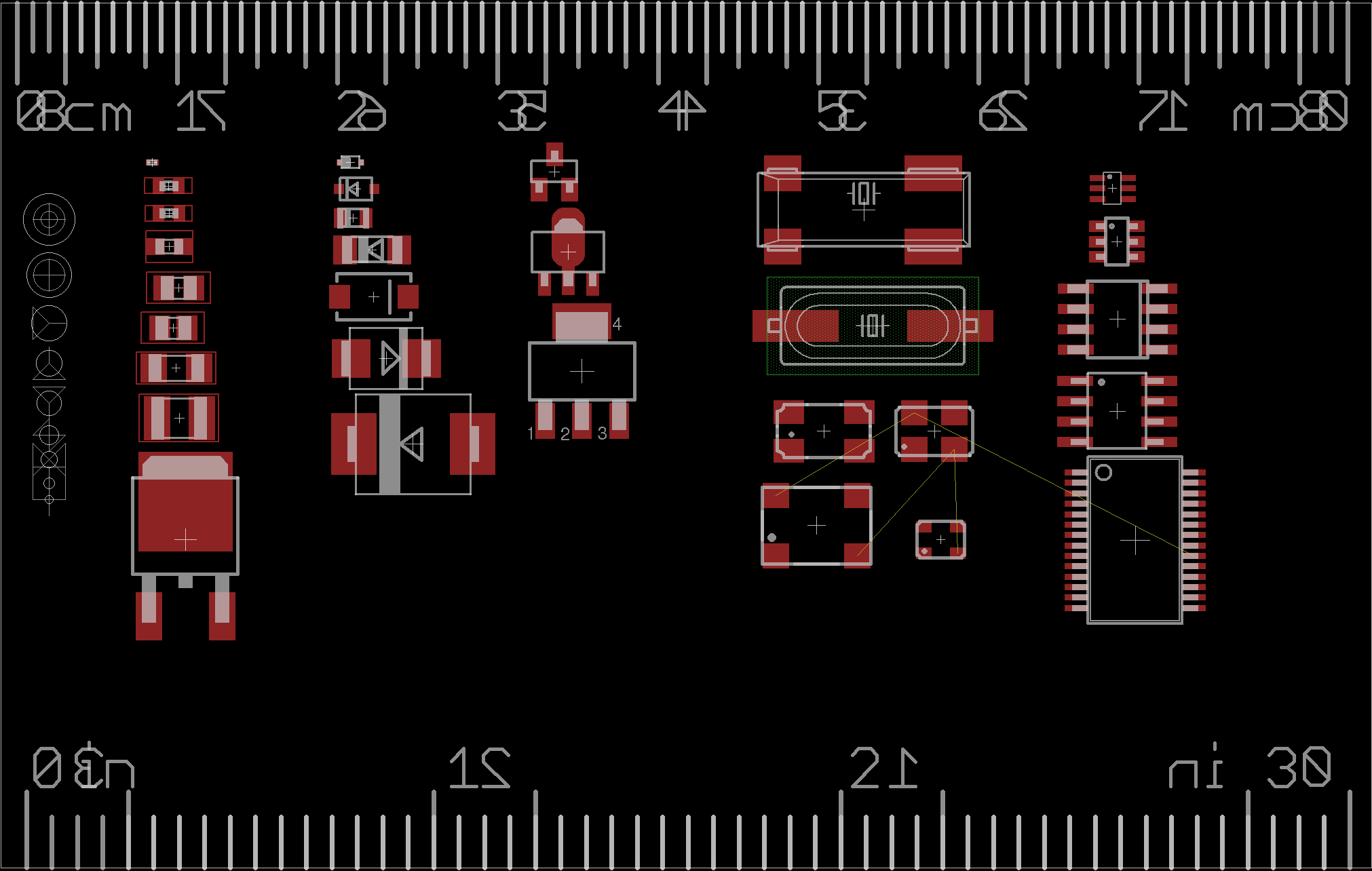 Open Source Pcb Ruler - Black Electronics