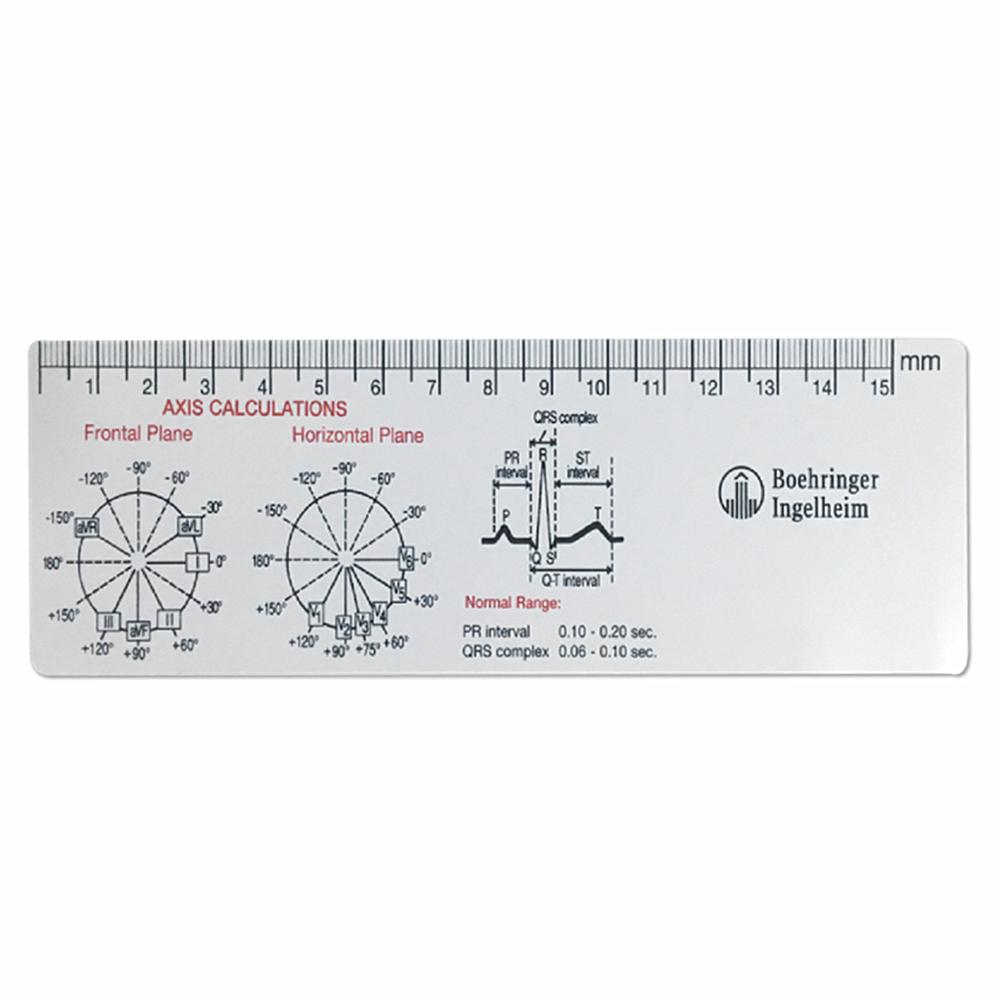 Plastic Ekg Ecg Printable Scale Ruler - Buy Ecg Ruler,ecg Printable Scale  Ruler,ekg Printable Scale Ruler Product On Alibaba