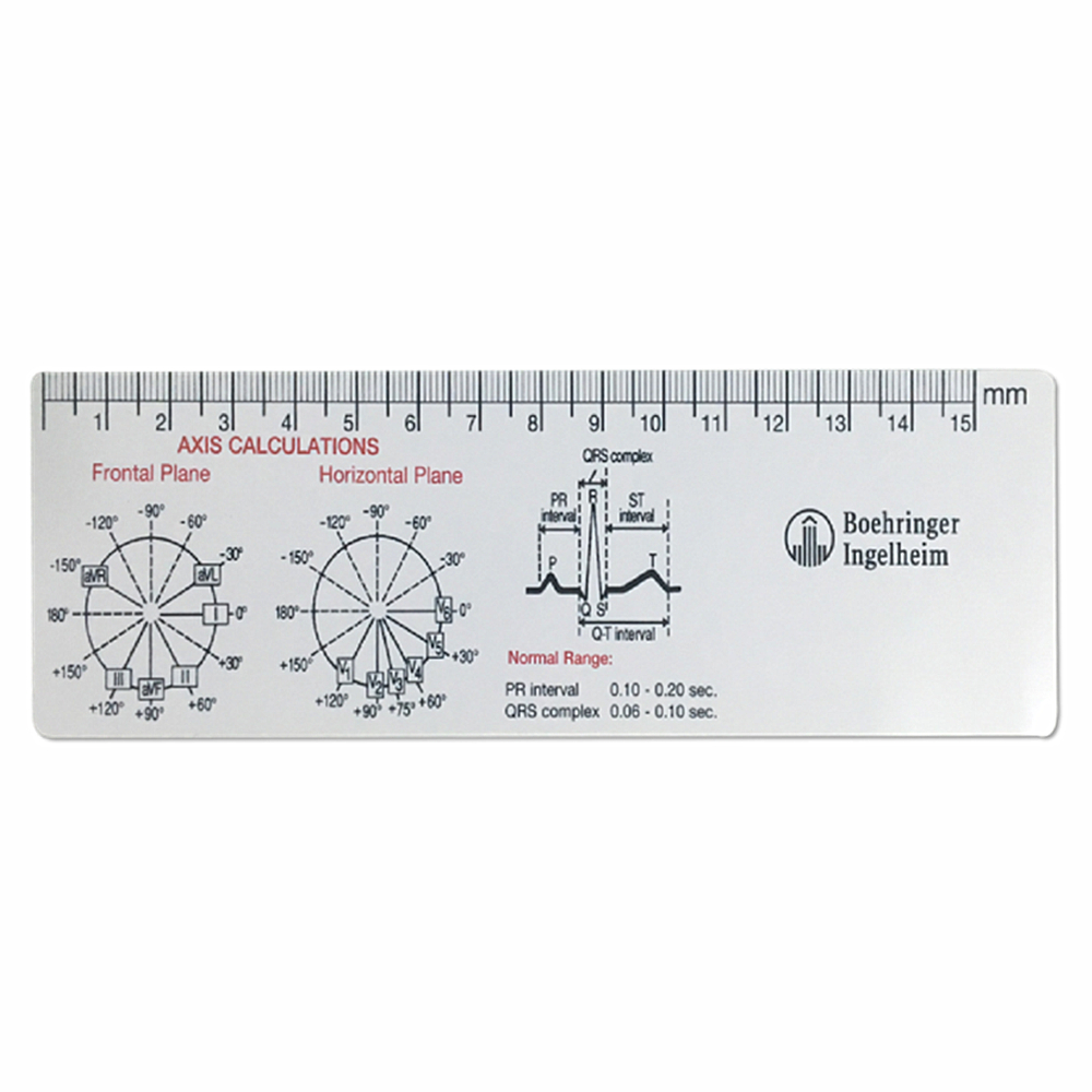 Plastic Ekg Ecg Printable Scale Ruler - Buy Ecg Ruler,ecg Printable Scale  Ruler,ekg Printable Scale Ruler Product On Alibaba