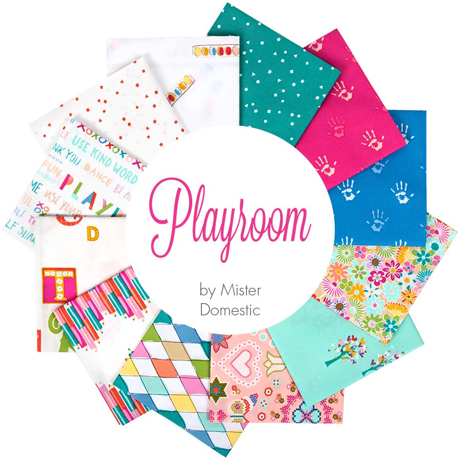 Playroom Fat Quarter Bundle | Mister Domestic For Art Gallery Fabrics