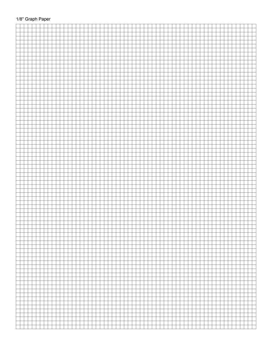 Print Graph Paper Template - Terete