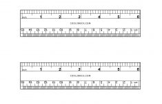 Six Inch Ruler Printable