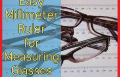 Printable Millimeter Ruler To Measure Glasses – Darrenwashere