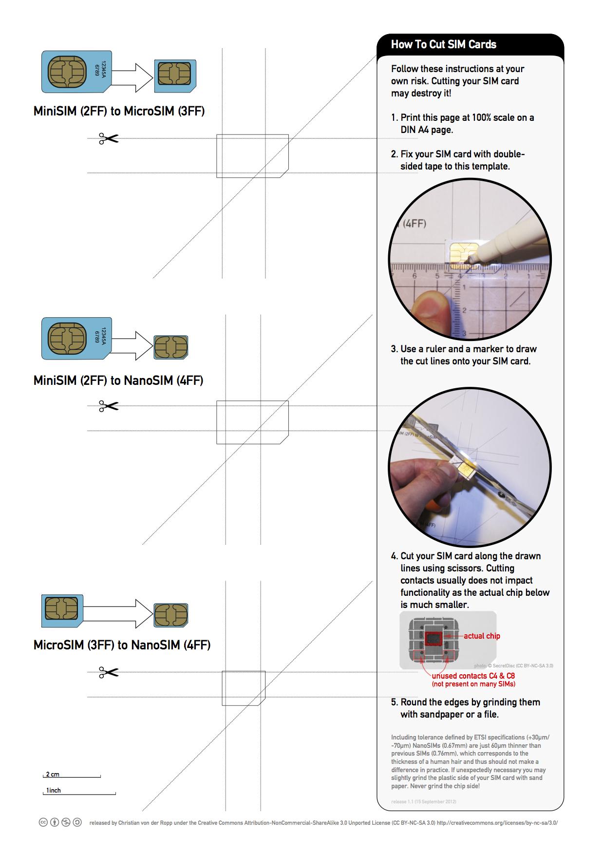 Printable Nano-Sim And Micro-Sim Cutting Guide [Download