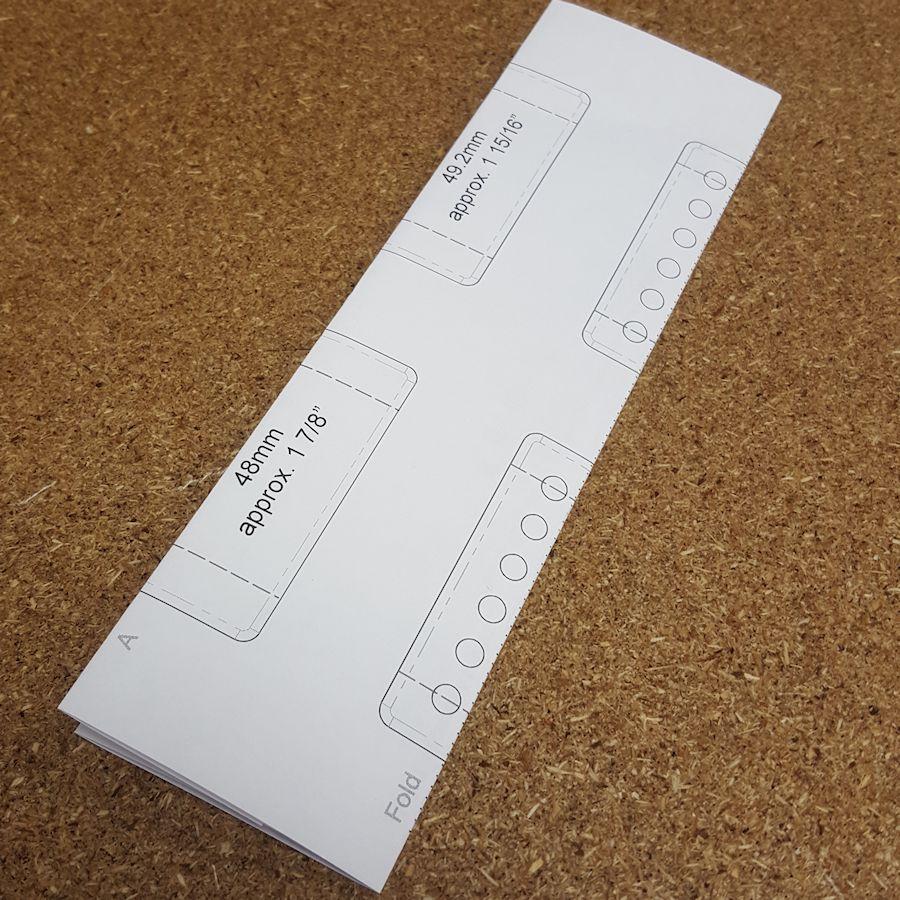 Printable Pdf For Measuring Pickup Pole Spacing