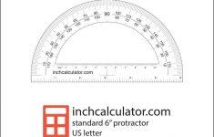 Printable Angle Ruler