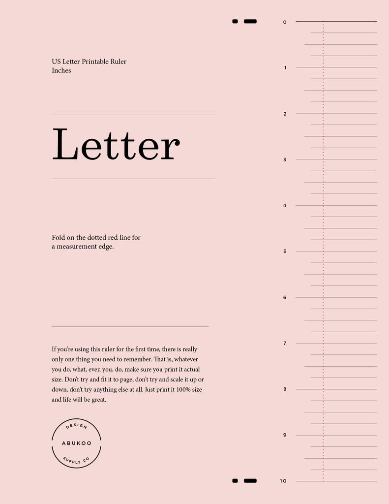 Printable Ruler Design | Printable Ruler, Lettering, Ruler