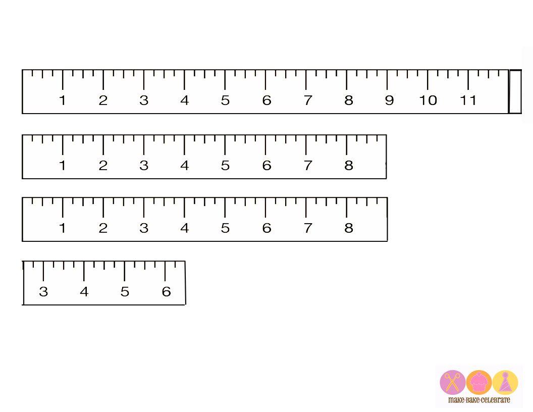 Printable Rulers For Preschool - Bing Images | Bible Crafts
