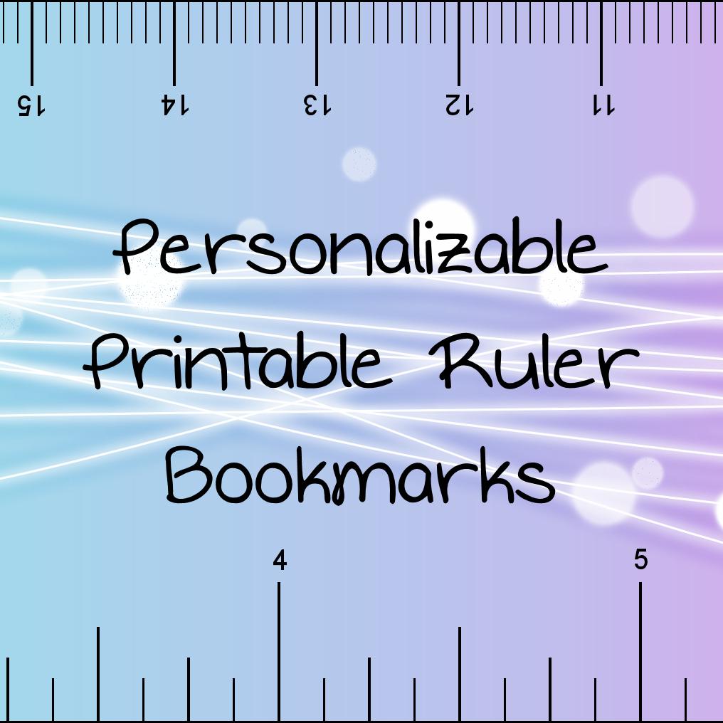 Printable Rulers- Pdf Format | Printable Ruler, Free