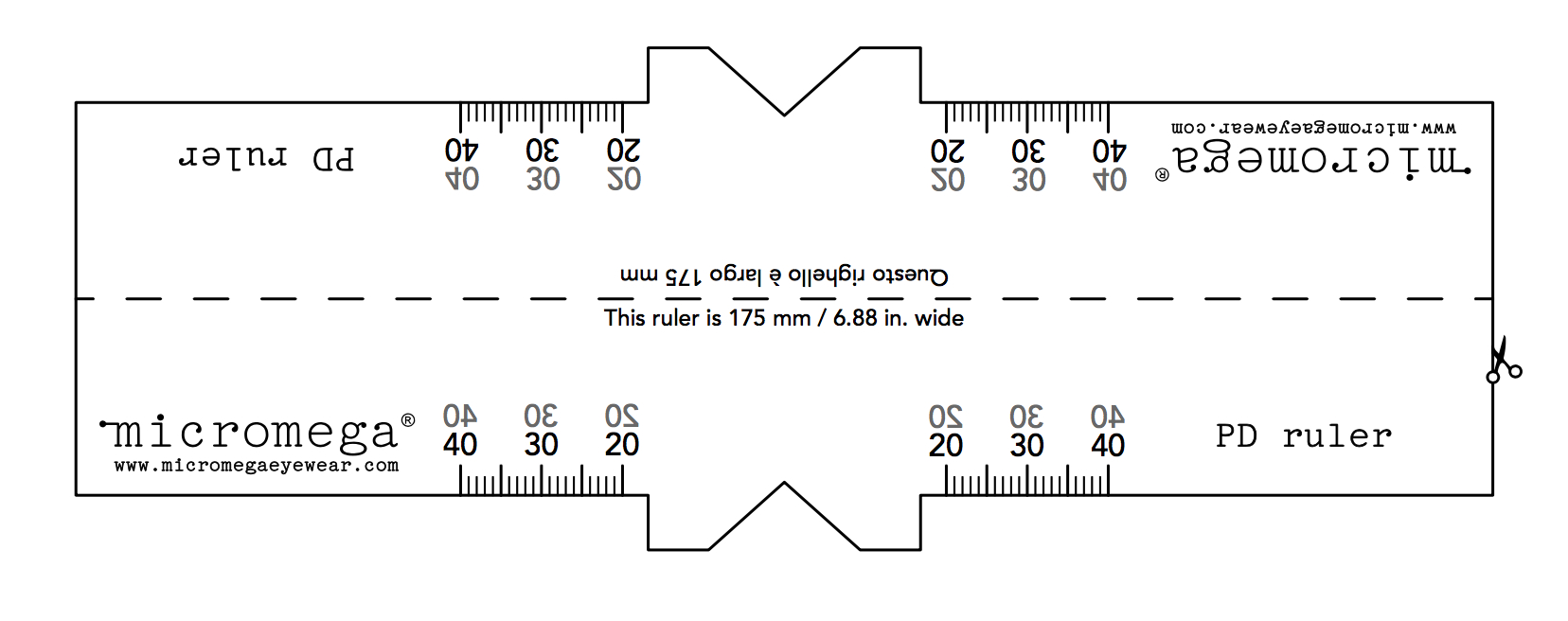 Pupillary Distance Ruler Pdf