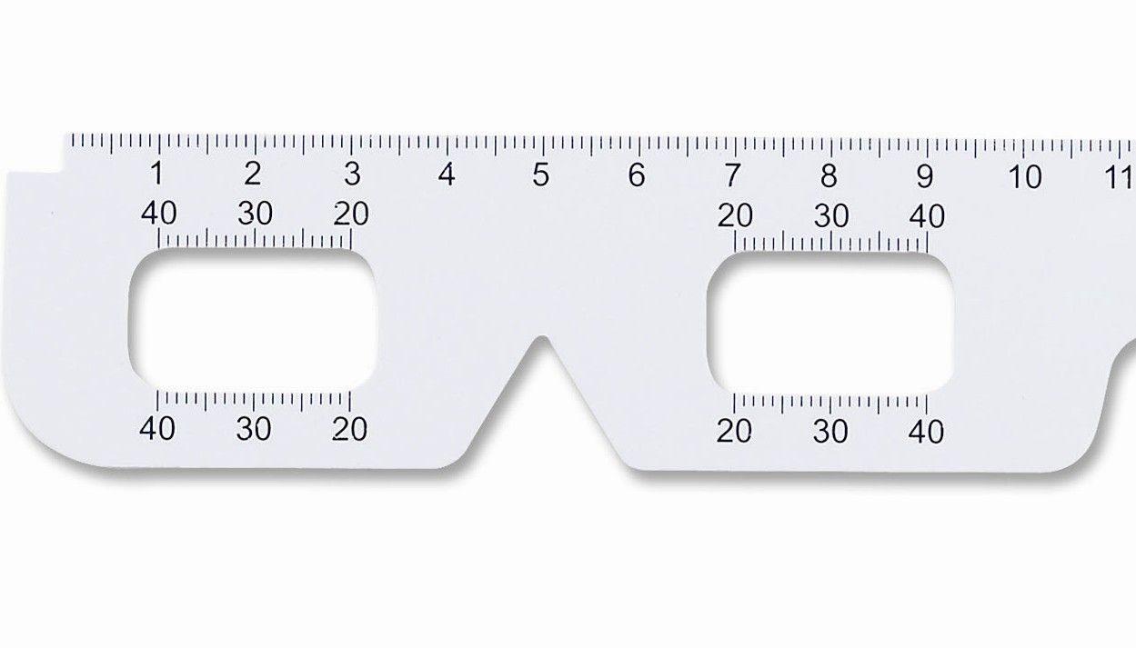 Pupillary Distance Ruler Printable