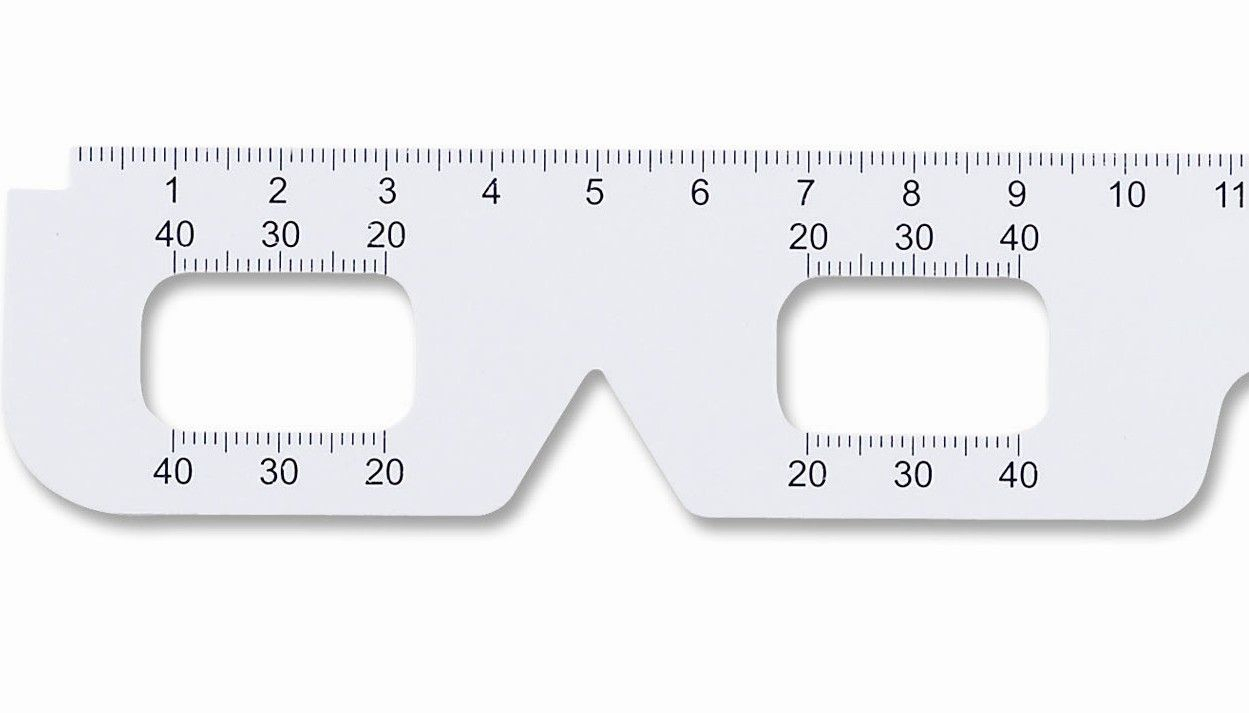 Pupillary Distance Ruler Printable