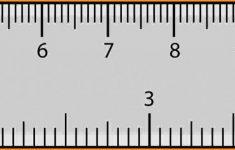 Printable Pupil Distance Ruler