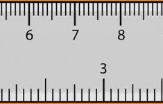 Mm To Inches Printable Ruler