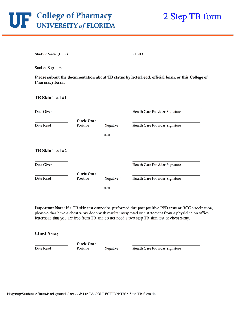 Report Format For Mantoux Test Pdf - Fill Online, Printable