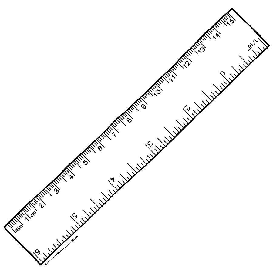 Reverse Printable Ruler | Printable Ruler, Ruler, Book Folding