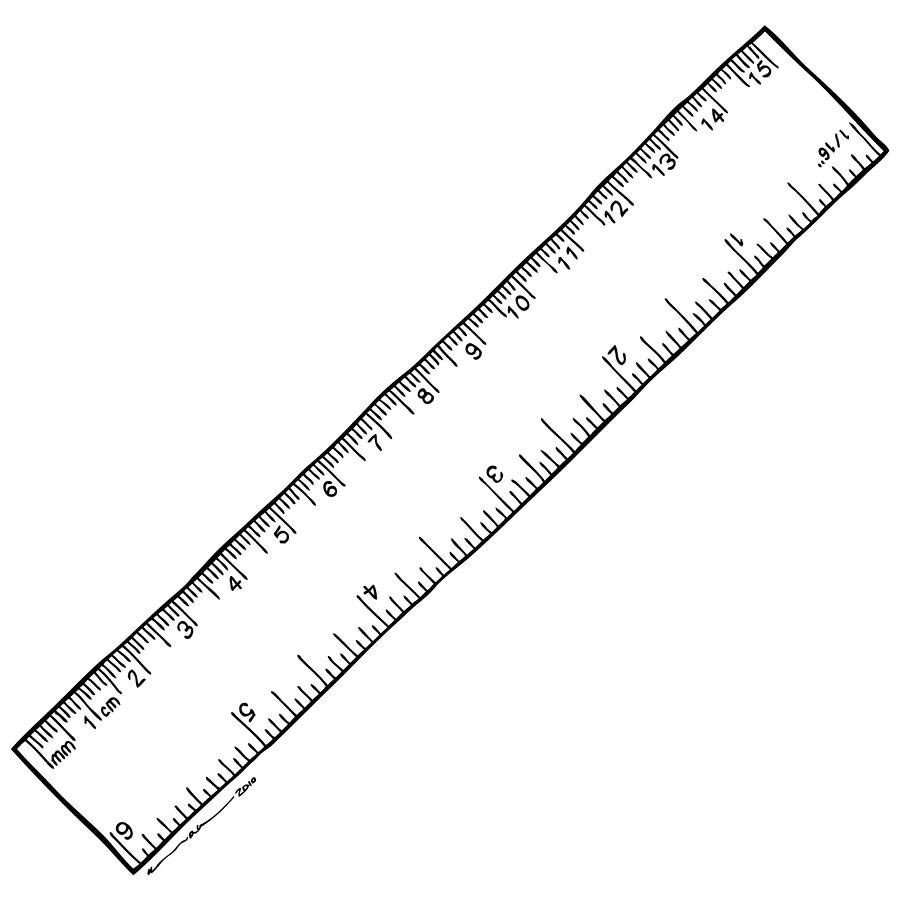 Reverse Printable Ruler | Printable Ruler, Ruler, Book Folding