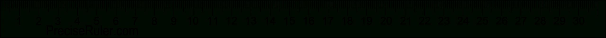 Ruler Clipart 20 Cm, Ruler 20 Cm Transparent Free For