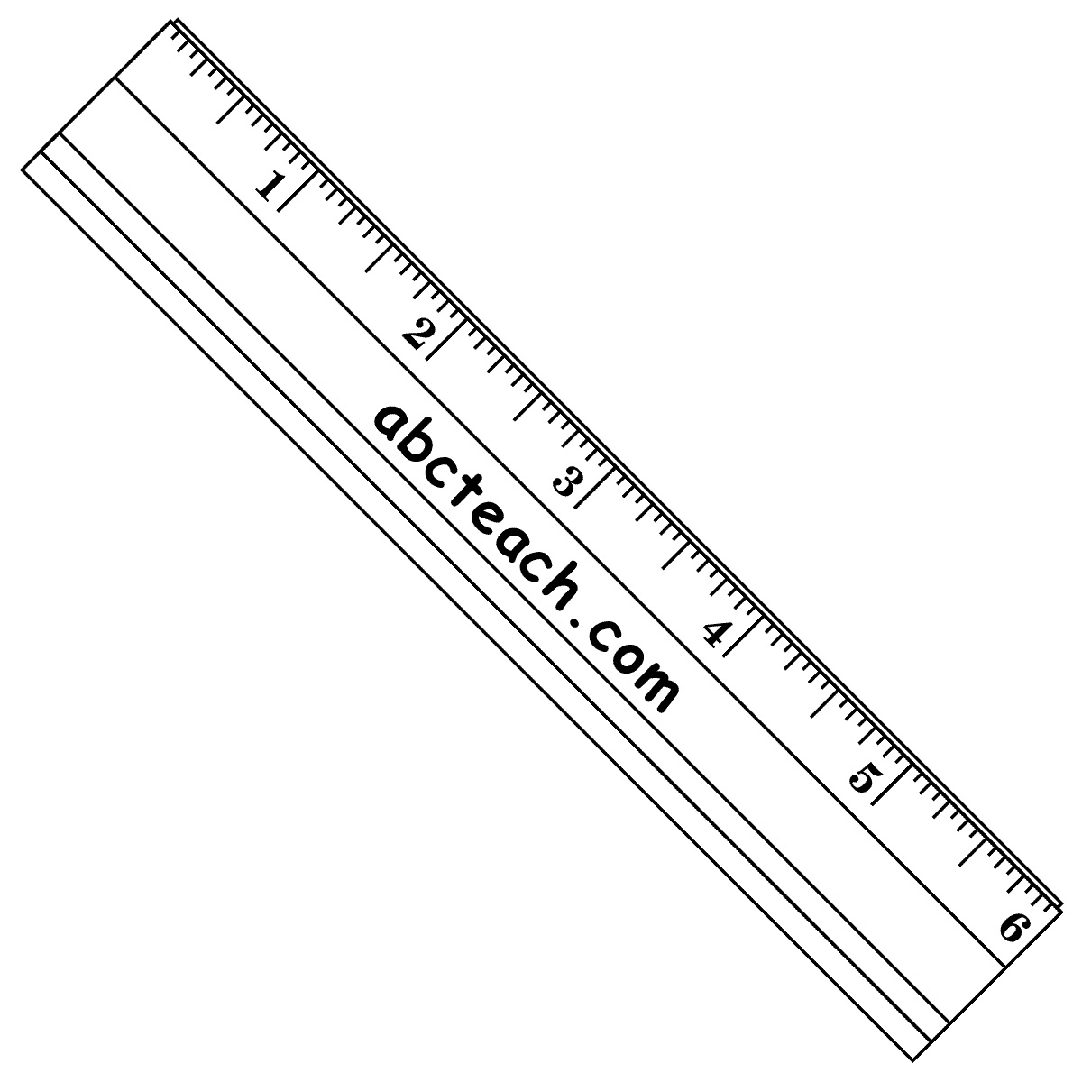 Ruler Clipart To 1 16 Inch| (50)++ Amazing Cliparts #rct11I