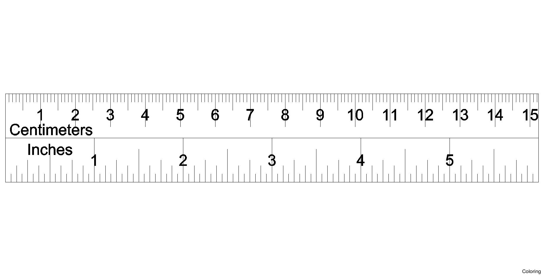 Ruler Cm Clipart