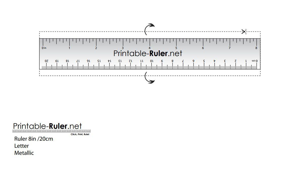 Ruler To Print - Bakara.luckincsolutions