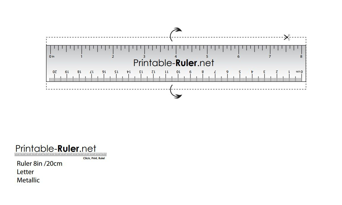 Ruler To Print - Bakara.luckincsolutions