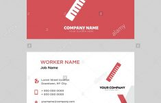 Forensic Ruler Printable Business Card