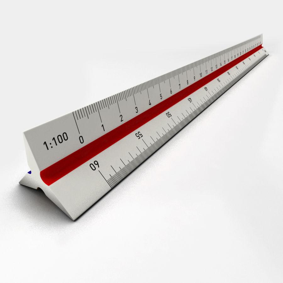 Scale Ruler 3D Model $8 - .unknown .obj .ma .max .fbx .c4D