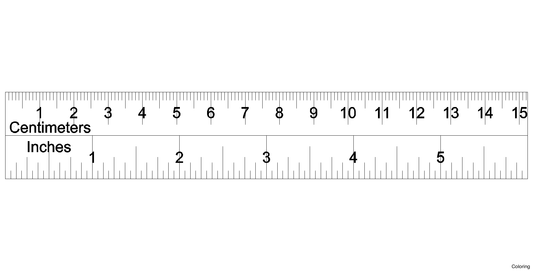 Scale Ruler Clipart