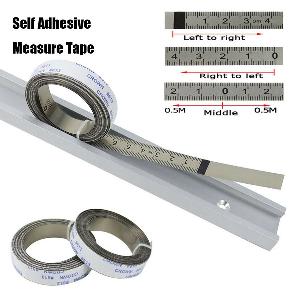 Self Adhesive For Miter Saw Scale Ruler Tape Measures Track Tapes Metric  Rulers
