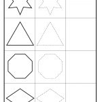 Shape Tracing – Circle, Pentagon, Oval, Heart, Square