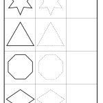 Shape Tracing – Circle, Pentagon, Oval, Heart, Square